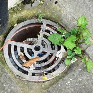 blocked drains trowbridge outdoors