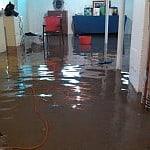 trowbridge plumber flooded basement