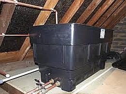trowbridge plumbers sweating tank