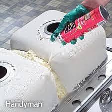 trowbridge plumbers loud sink