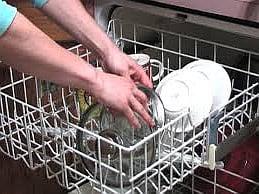 trowbridge plumbers loading dishwasher