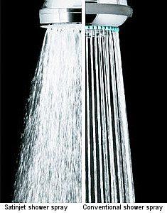 trowbridge plumbers shower spray